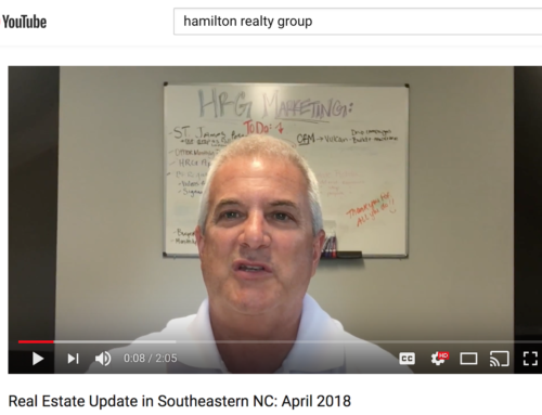 Southeastern NC's Spring 2018 Real Estate Update