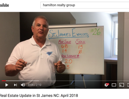 April's Real Estate Update in St. James, NC