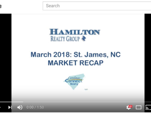 Real Estate Update in St. James, NC: March 2018