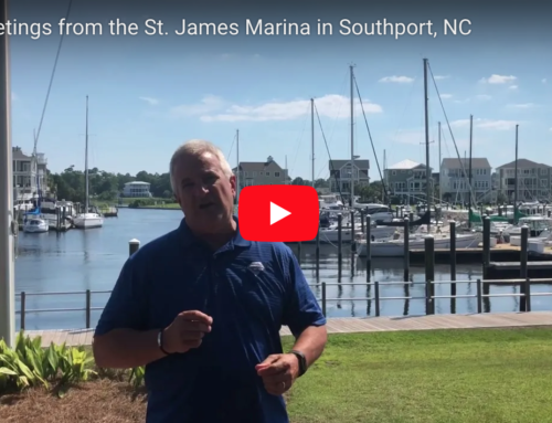 July Greetings from the St. James Marina in Southport, NC