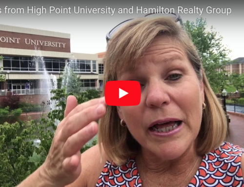 Greetings from High Point University and Hamilton Realty Group