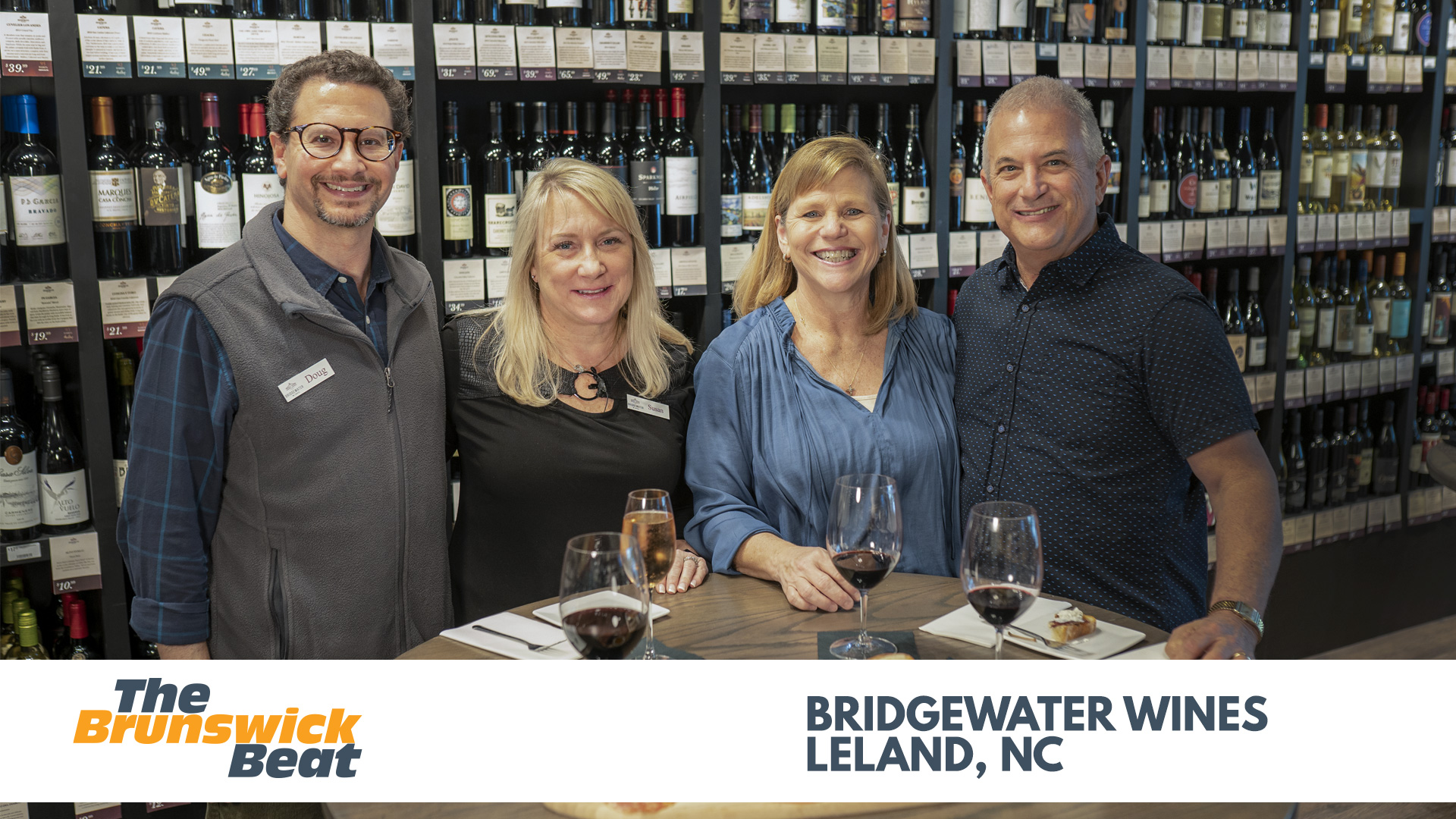 Brunswick Beat — EPISODE 10 —  Bridgewater Wines — Leland, NC