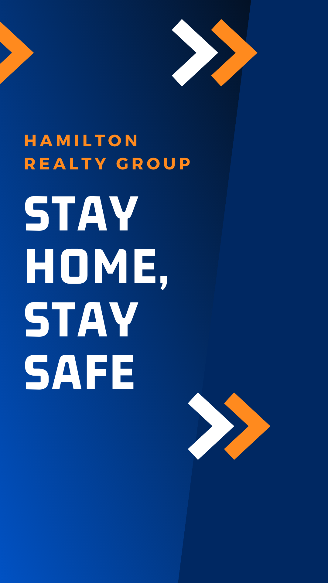 A Special Message from Hamilton Realty Group