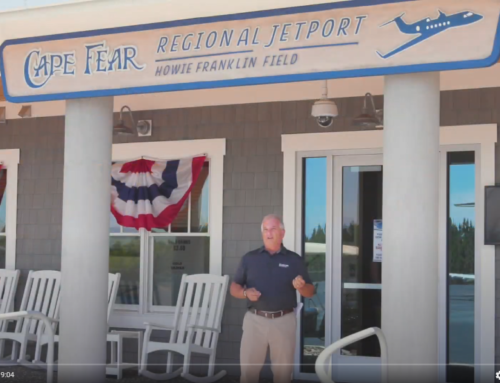 The Brunswick Beat – EPISODE 13 – Part 1: Meet Howie Franklin, Cape Fear Regional Jetport Director