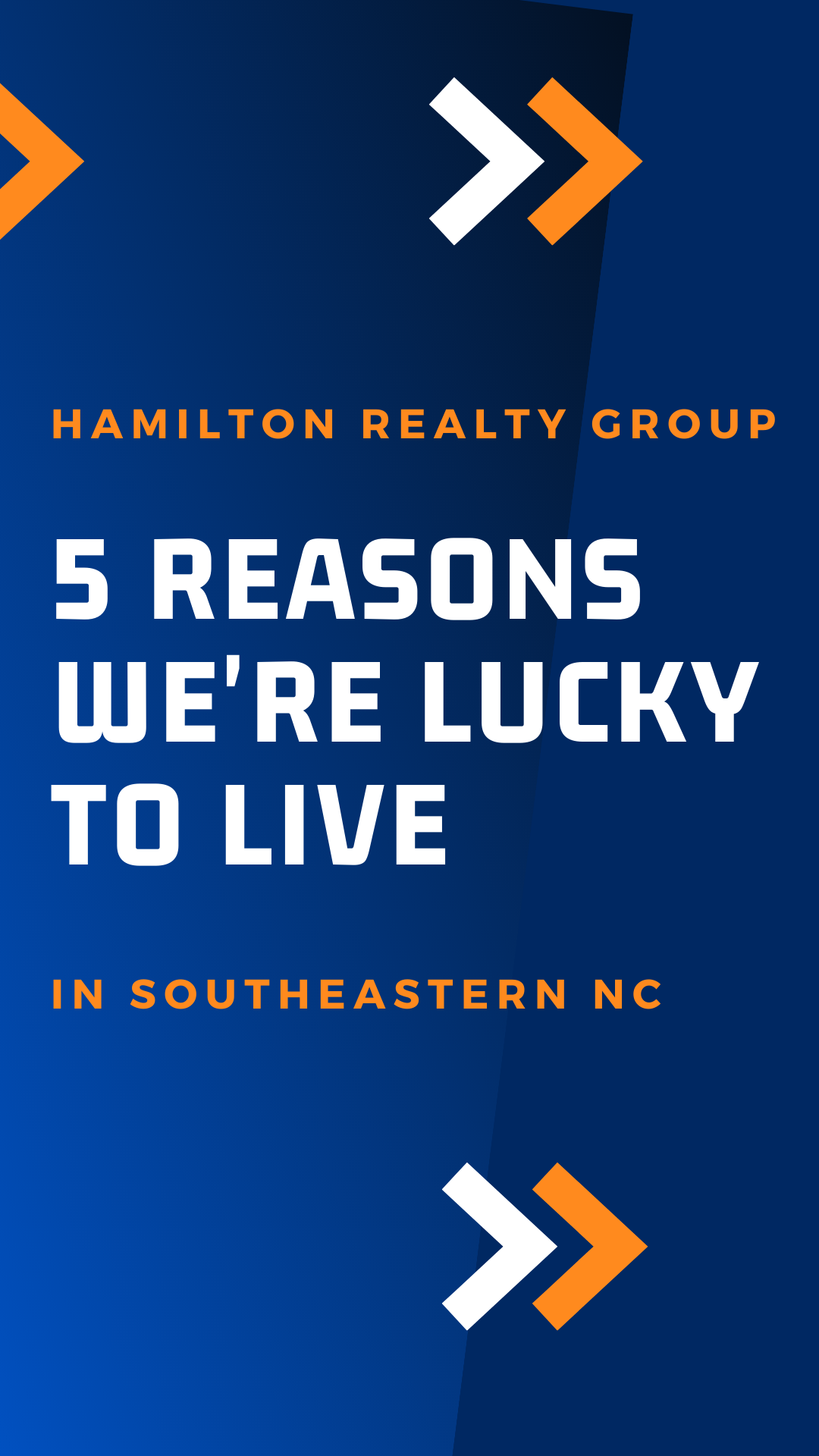 5 Reason We're Lucky to Live in Southeastern NC
